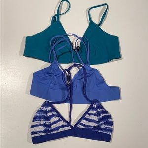 Set of 3 UO bras sz S